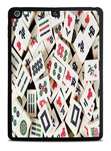 Mah Jong Tiles Mahjong Black iPad Air Silicone Case