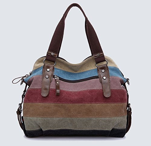 Bag Shopper 3 Stripe 14 14 Shopping Canvas 9 Bag Tote Handbag Grey 5in Print Women Hobo x 12 x 1 Shoulder Beach 1x5 Bag 7 Bag 9x15 zTEwqA6UUx