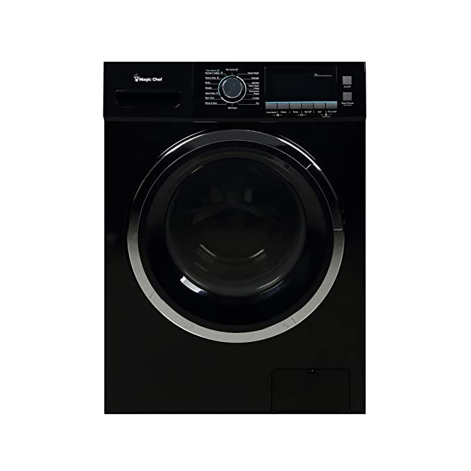 Magic Chef 2.0 cu ft Combo Washer and Dryer, White Best All-in-One Washer Dryer Combo Machines