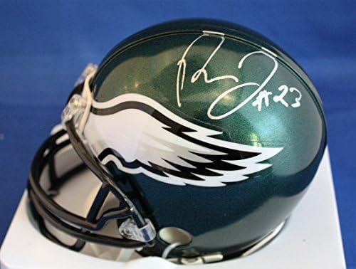 a3aa189a9 AUTOGRAPHED Rodney McLeod Philadelphia Eagles Mini Helmet w COA at ...