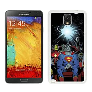 Unique Photo Case,iron man White Custom Samsung Galaxy Note 3 Cover Case