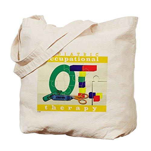 CafePress–recomendado por terapia ocupacional–Gamuza de bolsa de lona bolsa, bolsa de la compra