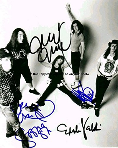 Pearl Jam Full Band Autographed Preprint Signed Photo -
