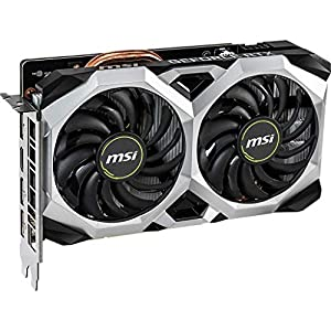 MSI Gaming GeForce RTX 2060 6GB GDRR6 192-bit HDMI/DP Ray Tracing Turing Architecture VR Ready Graphics Card