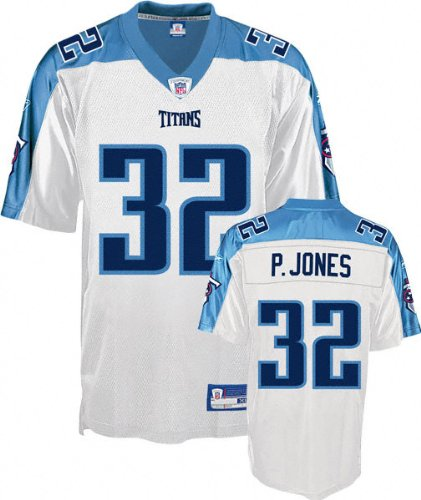 ... Adam Pacman Jones Tennessee Titans White NFL Replica Jersey - X-Large  2010 Reebok On Field Sewn Tennessee Titans 10 Vince Young ... 6253782a8