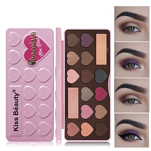 PLENTOP Women Makeup Eye Shadow Pearlescent Rotating Make up