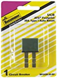Bussmann (BP/UCB-30-RP) 30 Amp Type-I Universal Circuit Breaker