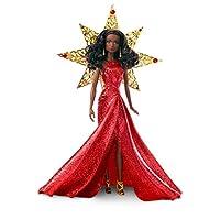 Barbie 2017 Holiday Nikki pelo negro con vestido rojo muñeca