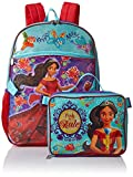 Disney Girls' Elena Backpack with Lunch, Purple