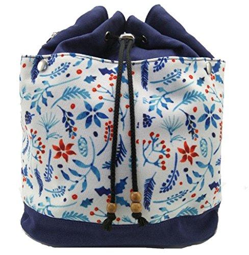 Lona de moda impresa Mochilas de doble hombro pequeñas mochilas Escuela Lindo Bolso de escuela , deep purple deep purple