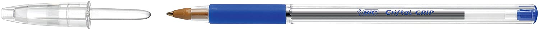 Transparent Bic 8317032 boite de 20 Stylo bille Bleu