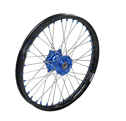 Protrax Complete Front Wheel 21-by-1.60 inch Blue