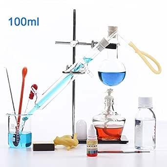 100 ml Nuevo Lab Aceite esencial destilación Aparato destilador de ...