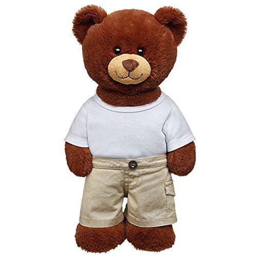 Build-a-Bear Workshop Tiny Pocket Khaki Teddy Bear (Boy Build A Bear)
