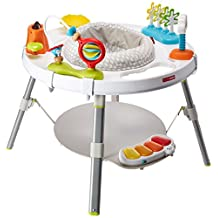 Skip Hop Explore and More Baby's View 3-Stage Activity Center, Multi, Small/Large/X-Small/4 Oz