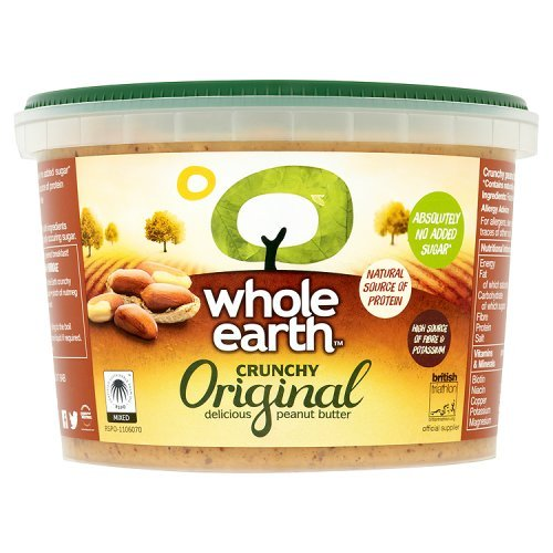 Whole Earth Crunchy Peanut Butter, 1Kg