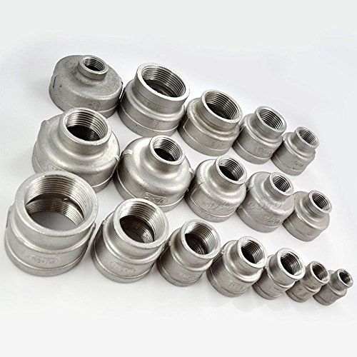 Quot x female nipple threaded pipe fitting reducer