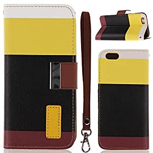 """ISWEES Leather Flip Card Slots Wallet Case Cover Holster Pouch for iPhone 6 4.7"""""""