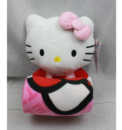 (Blanket - Hello Kitty - Plush & Blanket Combo Pink)