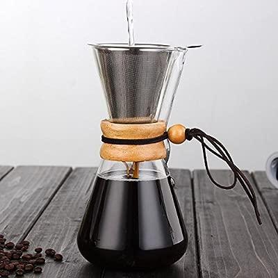 Cerveza de café de Vidrio Resistente al Calor 3 Tazas ...