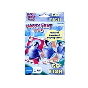 Happy Feet Two On the Go Go Fish Playing Cards