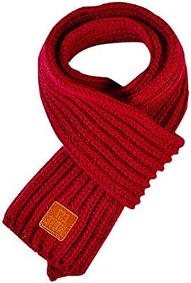 Emorias 1 Pcs Bufanda Tejida Otoño Invierno Lindo Cálido Niño Cuello Lana  Fulares Manton - Rojo Oscuro. Cargando imágenes. 0c053f73646