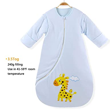 fcc51a463 Amazon.com  EsTong Baby Infant Cotton Blankets Sleeper Gowns Toddler ...