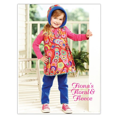 Kwik Sew Toddler Fiona's Floral & Fleece Outfit (3908) Pattern By The Each -