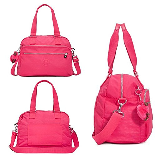 Kipling Women`s New Weekend Travel Bag (One Size, Vibrant Pink (688)) by Kipling