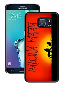 Hot Sale Hakuna Matata 3 Black Samsung Galaxy Note 5 Edge Screen Phone Case Cool and Charming Design