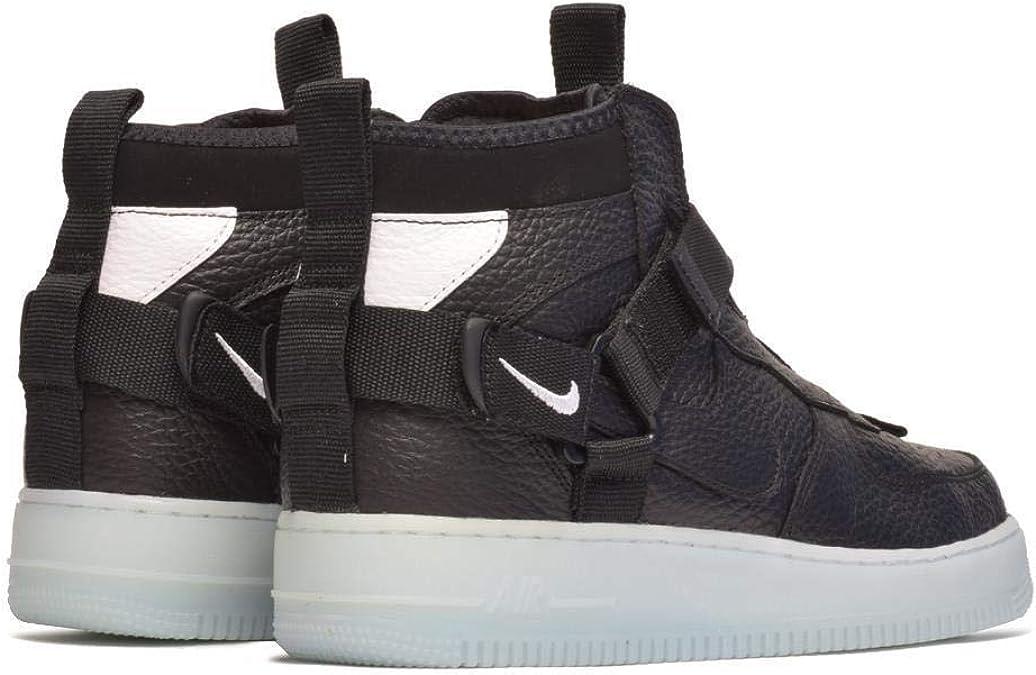 Sneakers Nike Air Force 1 Utility Mid Black AQ9758 001