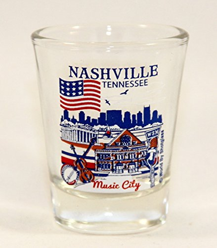UPC 702874895743, Nashville Tennessee Great American Cities Collection Shot Glass