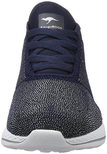 Blau Baskets 517 Femme Silver Navy W KangaROOS wq0I71p1