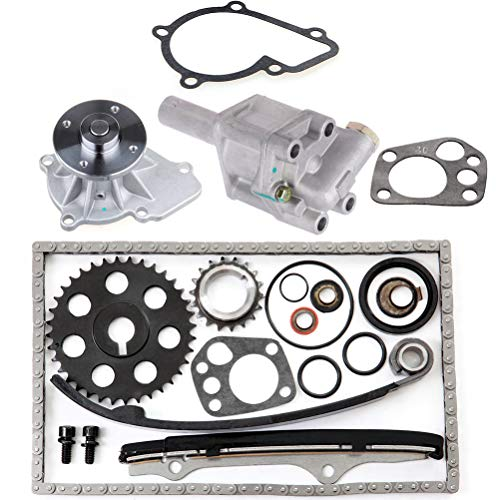 Ainter Oil Pump Water Pump Timing Chain Fit for 2011-2012 BMW 120i 2011 BMW 1 Series M (Bmw 2 Litre Diesel Engine Timing Chain)