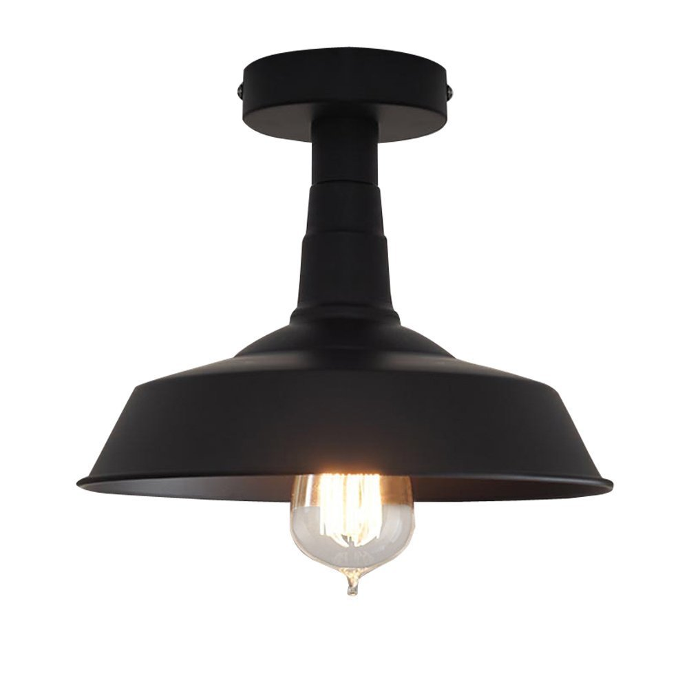 Vintage Simplicity Semi Flush Mount Ceiling Light (Style A)