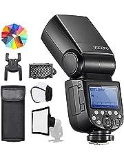 Godox V860III-C E-TTL II Flash 1/8000s 2.4G GN60 HSS Camera Flash Speedlite met Oplaadbare Batterij 450 Ful Power Flashes Compatibel met Canon EOS 6D M50 Mark II 90D (V860III-C)