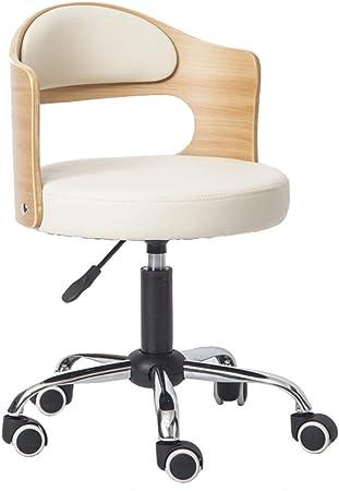 Chaise de Bureau avec Dossier réglable en Hauteur et Coussin