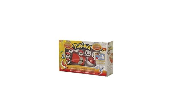 Bandai Pokemon Proyector Pokeball Lanzador: Amazon.es: Juguetes y ...