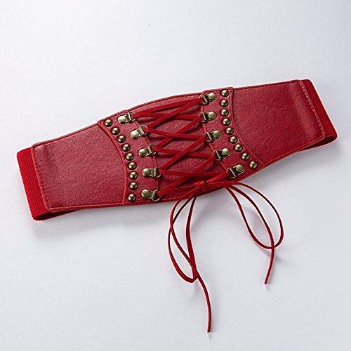 ERLINGSAN-YD Mujer cinturón de Moda Cien Corbata Cuerda Vendaje ...