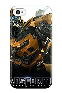 Tpu Fashionable Design Bumblebee Rugged Case Cover For Iphone 4/4s New