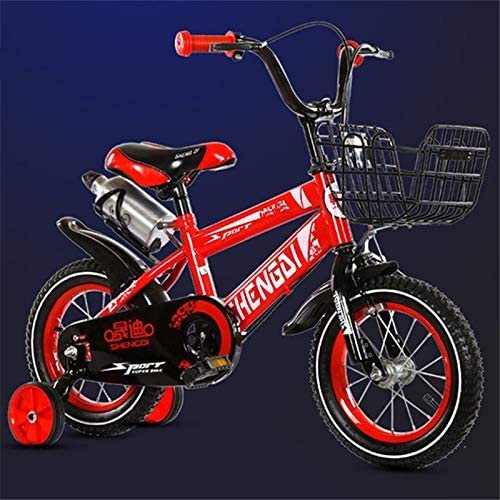 LXYFMS Bicicleta For Niños, Niña Princesa De 3-9 Años, Bicicleta ...