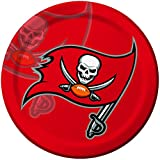 Creative Converting 8 Count Tampa Bay Buccaneers Paper Dinner Plates