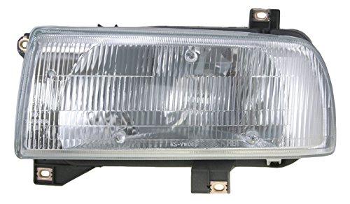 Headlight Headlamp Driver Side Left LH for 93-99 Volkswagen Jetta