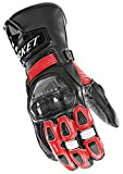 Joe Rocket Men's GPX Motorcycle Gloves (Black/Red, Medium)