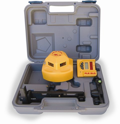 pls-laser-pls-60536-pls360-laser-level-system-with-detector-yellow-by-pacific-laser-systems