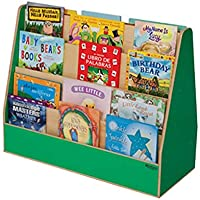 Healthy Kids Colors WD34200G Green Apple Double Sided Book Display