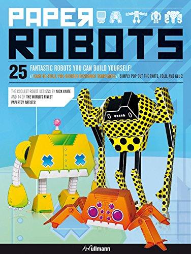 Paper Robots: 25 Fantastic Robots