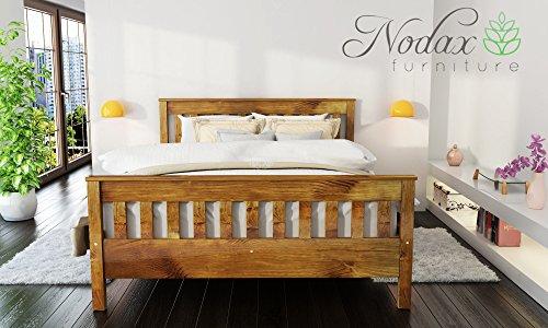 e0da440c192 Wooden Pine King Size Bed Frame