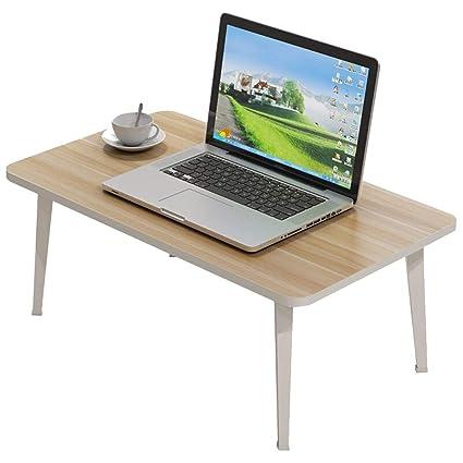 HQCC Mesa plegable de la cama del escritorio del ordenador portátil, escritorio del ordenador portátil