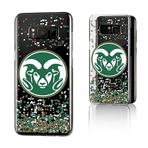 Keyscaper NCAA Colorado State Rams Unisex Samsung Galaxy Caseclear Case, Clear, Galaxy S8 by Keyscaper